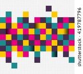 vector illustration of abstract ... | Shutterstock .eps vector #419787796