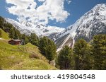 alp in south tyrol  italy | Shutterstock . vector #419804548