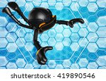virtual reality vr goggles... | Shutterstock . vector #419890546