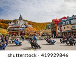 Mont Tremblant  Quebec  Canada...