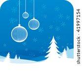 winter background | Shutterstock .eps vector #41997154