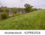 Causey In Nature Reserve. Gree...