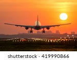 Passenger Plane Is Landing...