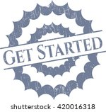 get started rubber seal | Shutterstock .eps vector #420016318