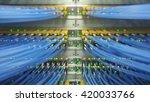 fully loaded network media... | Shutterstock . vector #420033766