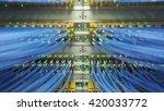 fully loaded network media... | Shutterstock . vector #420033772