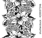 abstract elegance seamless... | Shutterstock .eps vector #420037246