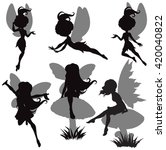 illustration of fairy... | Shutterstock .eps vector #420040822