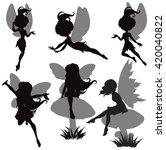 illustration of fairy... | Shutterstock .eps vector #420040822