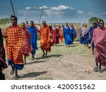 masai mara   october 02   young ... | Shutterstock . vector #420051562