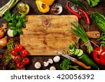 high angle still life view of... | Shutterstock . vector #420056392