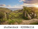 Overlooking A Farm Gate Toward...