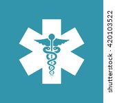medical symbol icon. eps 10. | Shutterstock .eps vector #420103522