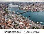 Aerial View Of Istanbul. Old...