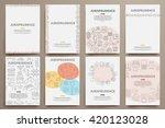 corporate identity vector... | Shutterstock .eps vector #420123028