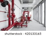 Factory Red Pipes