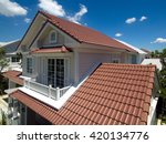 house roofs tiles  new styles... | Shutterstock . vector #420134776