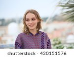 lily rose depp attends the 'the ... | Shutterstock . vector #420151576