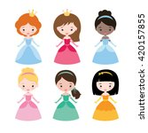 cute vector collection of...   Shutterstock .eps vector #420157855