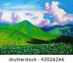 field | Shutterstock . vector #42026266