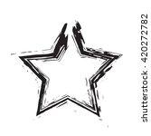 star patriot symbol grunge... | Shutterstock .eps vector #420272782