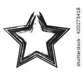 star patriot symbol grunge... | Shutterstock .eps vector #420273418