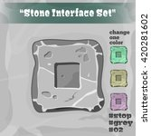 stone user interface element 02....