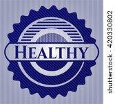 healthy denim background | Shutterstock .eps vector #420330802