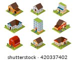 Modern Homes And Isometric...