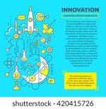 vector creative concept... | Shutterstock .eps vector #420415726