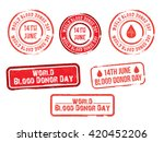 vector stamp set for world... | Shutterstock .eps vector #420452206