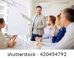presentation and collaboration... | Shutterstock . vector #420454792