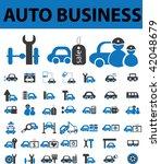 auto business. vector | Shutterstock .eps vector #42048679