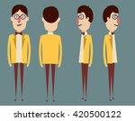 character positions set | Shutterstock .eps vector #420500122