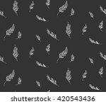 plumage | Shutterstock .eps vector #420543436