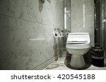 interior of a modern bathroom | Shutterstock . vector #420545188