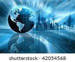 best internet concept of... | Shutterstock . vector #42054568