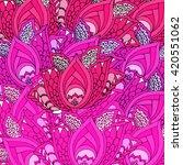 pink lotus flower background...   Shutterstock .eps vector #420551062