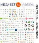 logo mega collection  abstract... | Shutterstock .eps vector #420569182
