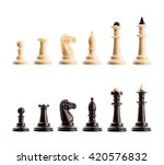 chess figures isolated | Shutterstock . vector #420576832