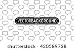 seamless pattern of text frames ... | Shutterstock .eps vector #420589738