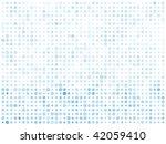 abstract blue circles bright...