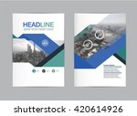 layout design template vector ... | Shutterstock .eps vector #420614926