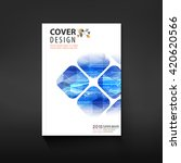 abstract cover design ...   Shutterstock .eps vector #420620566