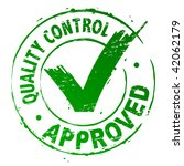quality control approved | Shutterstock .eps vector #42062179