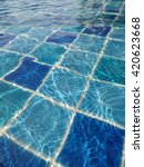 swimming pool background | Shutterstock . vector #420623668