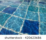 swimming pool background | Shutterstock . vector #420623686