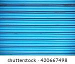 door shutters texture | Shutterstock . vector #420667498