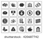 investment icons  | Shutterstock .eps vector #420687742