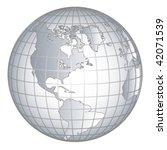 globus europe africe | Shutterstock .eps vector #42071539